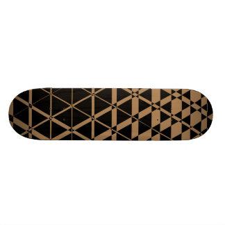 Triagonal Ebony (Tan) Skateboard Deck