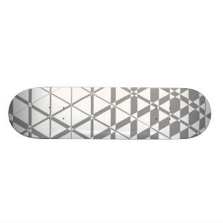 Triagonal Ivory (Grey) Skateboard Deck