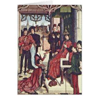 Trial By Fire Of The Countess By Bouts Dieric Greeting Cards