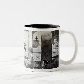 Trial of Madeleine Smith, 1857 Two-Tone Coffee Mug