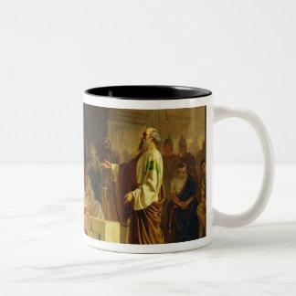 Trial of the Apostle Paul Two-Tone Coffee Mug