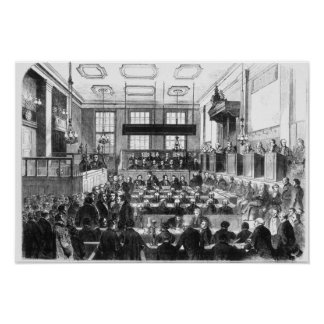 Trial of William Palmer Poster