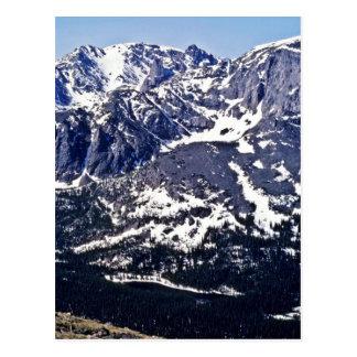 Trial Ridge Road - Rocky Mountain National Park Postcard