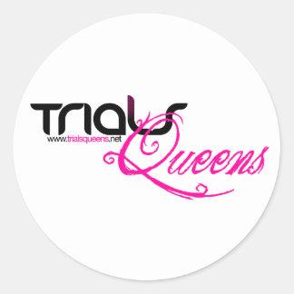 TrialsQueens Stickers