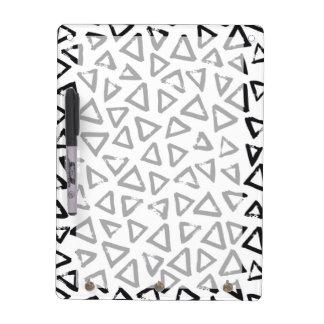Triangels, Geometric  Scandinavian Design Pattern Dry Erase Board