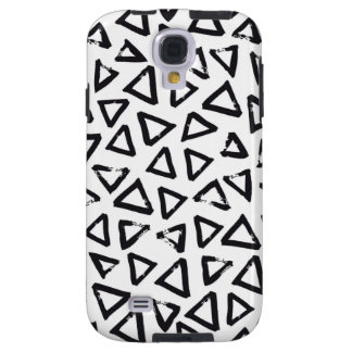 Triangels, Geometric  Scandinavian Design Pattern Galaxy S4 Case