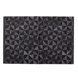TRIANGLE1 BLACK MARBLE & BLACK WATERCOLOR COVER FOR iPad AIR