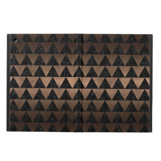 TRIANGLE2 BLACK MARBLE & BRONZE METAL CASE FOR iPad AIR