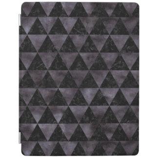 TRIANGLE3 BLACK MARBLE & BLACK WATERCOLOR iPad COVER