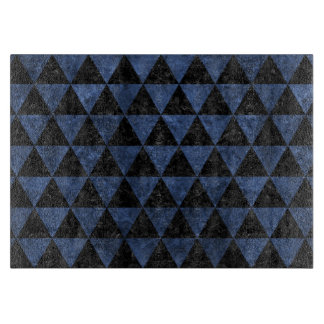 TRIANGLE3 BLACK MARBLE & BLUE STONE CUTTING BOARD