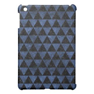 TRIANGLE3 BLACK MARBLE & BLUE STONE iPad MINI CASES