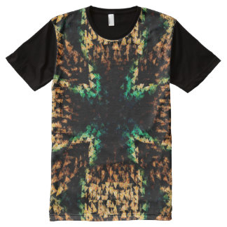 Triangle abstract All-Over print T-Shirt