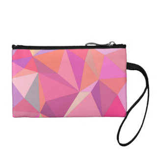 Triangle abstract coin purse