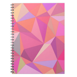 Triangle abstract note book