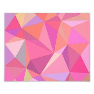 Triangle abstract photo art