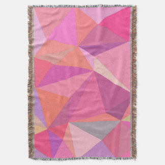 Triangle abstract throw blanket
