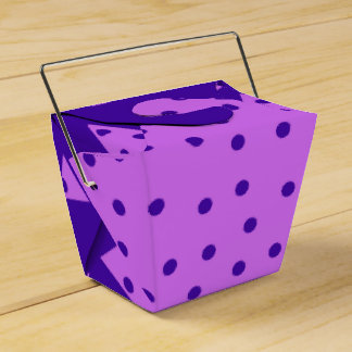 Triangle and  Circles Favour Box