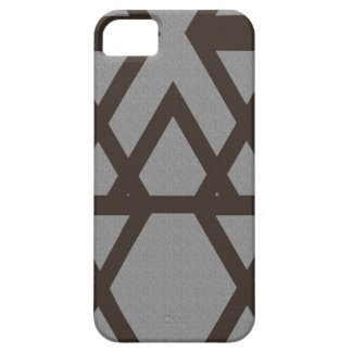 Triangle and Diamond Gray Pattern iPhone 5 Cover