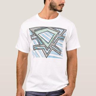 Triangle Blocks Motif T-shirt