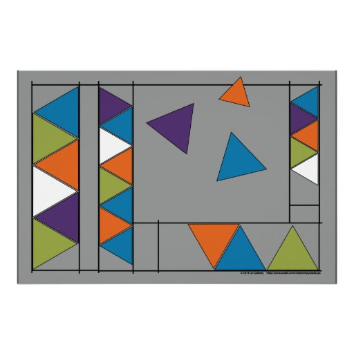 Triangle Breakout 1/50 Posters