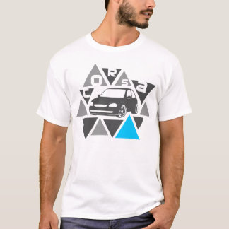 Triangle Car -Corsa- T-Shirt
