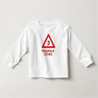 Triangle Choke No 3 Toddler T-Shirt