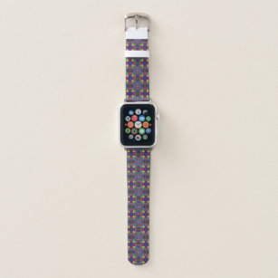 Triangle Colours Glass Pattern Apple Watch Band