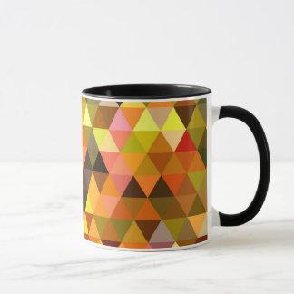 Triangle Design 60's Psychedelic Mug