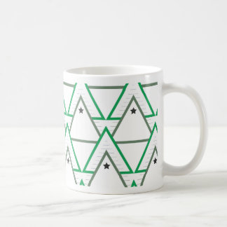 triangle galaxy coffee mug