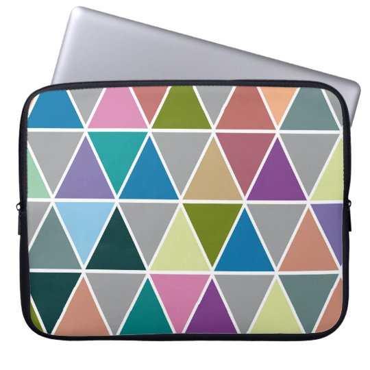 Triangle geometric Neoprene Laptop Sleeve 15 inch