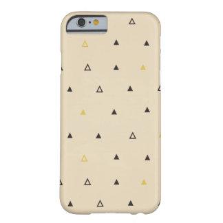 Triangle geometric pattern cream Iphone case