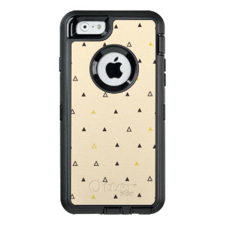 Triangle geometric pattern cream Otterbox iphone OtterBox iPhone 6/6s Case
