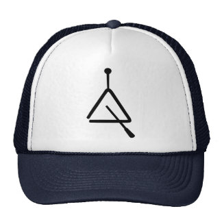 Triangle instrument hats