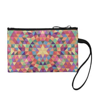 Triangle mandala 1 coin purse