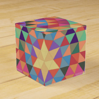 Triangle mandala 1 favour box