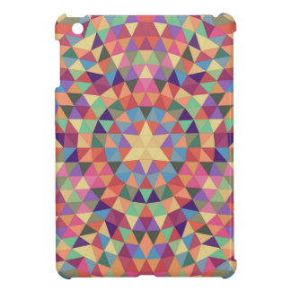 Triangle mandala 1 iPad mini cases