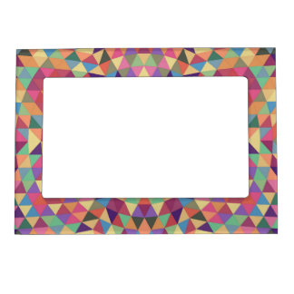 Triangle mandala 1 magnetic photo frames