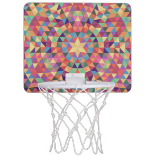 Triangle mandala 1 mini basketball hoop