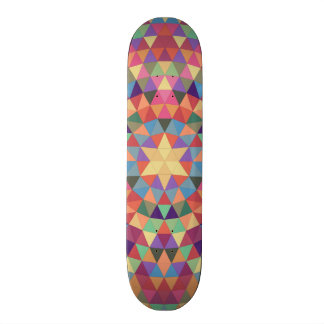 Triangle mandala 1 skate decks