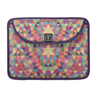 Triangle mandala 1 sleeve for MacBook pro