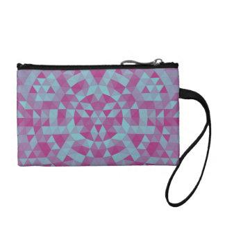 Triangle mandala 2 coin purse