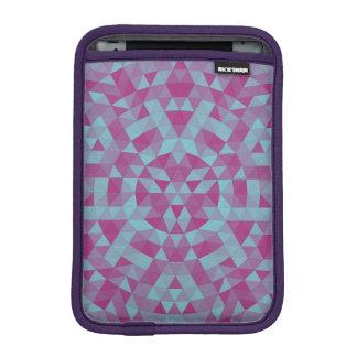 Triangle mandala 2 iPad mini sleeve