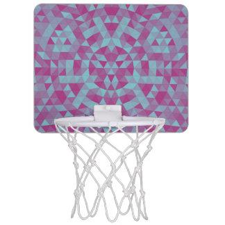 Triangle mandala 2 mini basketball hoop