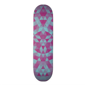 Triangle mandala 2 skate board