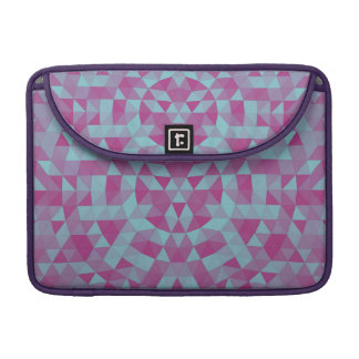 Triangle mandala 2 sleeve for MacBook pro