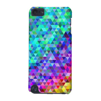 Triangle mosaic rainbow iPod touch (5th generation) covers