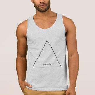 Triangle Namaste Singlet