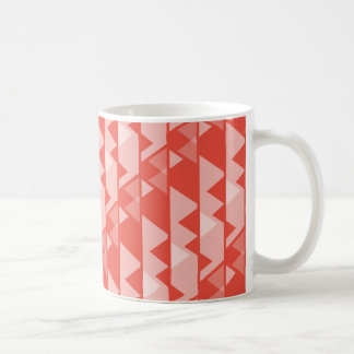 Triangle Pattern Coffee Mug