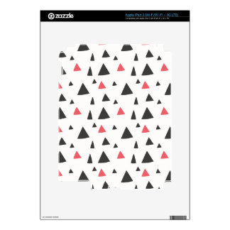 Triangle Pattern Decals For iPad 3