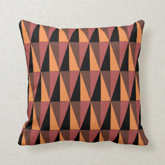 Triangle Pattern Reversible Throw Pillow